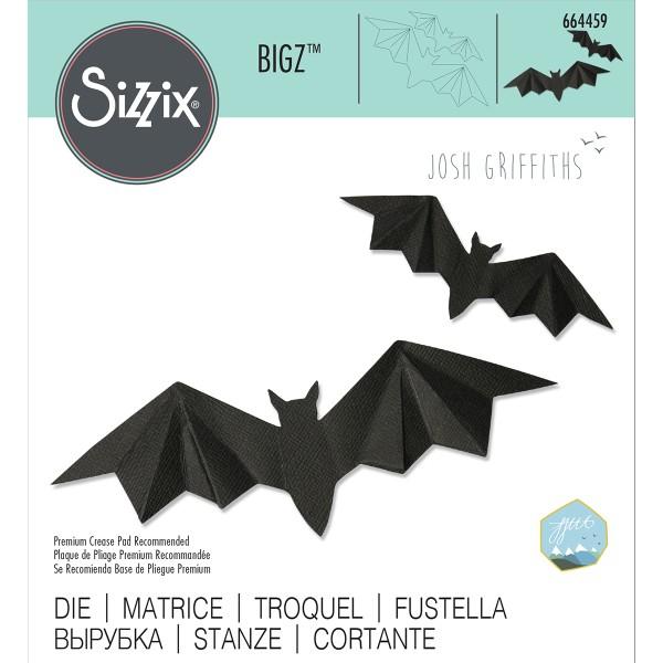 Set de matrice Sizzix Bigz - Chauve-souris 3D - Photo n°2