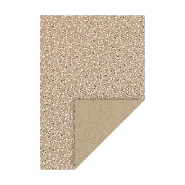 10pcs Carton A4 220g - la Nature, l'arrière-plan de Papier, papier d'Art, Papier d'Art Journal, Feui - Photo n°1