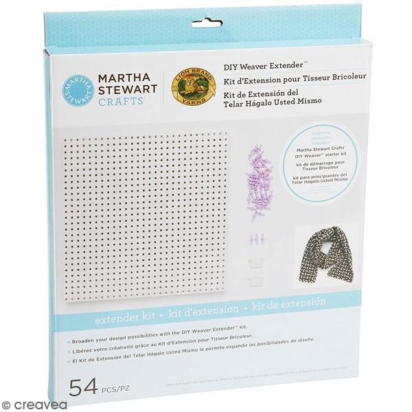 Kit d'extension pour métier à tisser modulable Martha Stewart - 54 pcs - Photo n°1