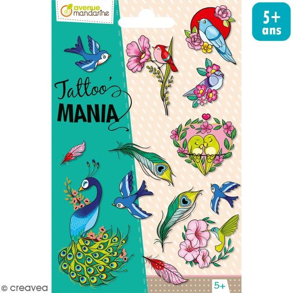Tattoo's Mania - Oiseaux - Photo n°1
