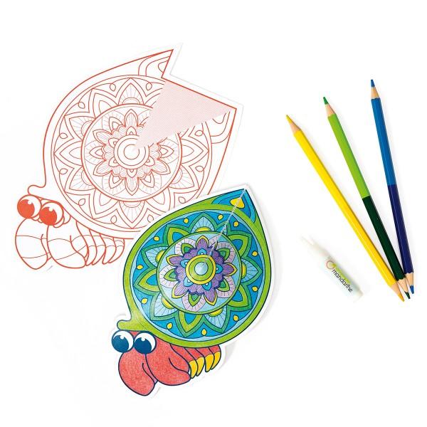 Coloriage 3D Graffy Pop - Mandala - 36 pages - Photo n°2