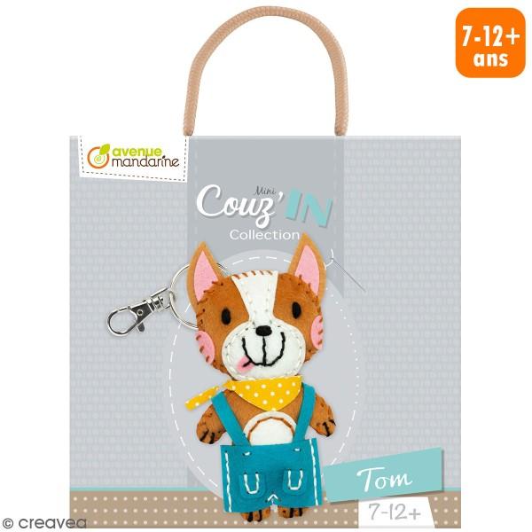 Kit créatif Mini Couz'in - Tom le chien - Photo n°1