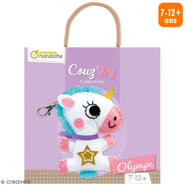 Kit créatif Mini Couz'in - Olympe la licorne - Photo n°1