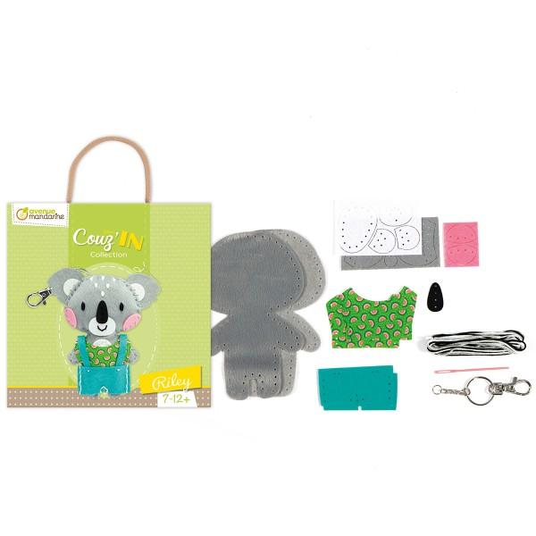 Kit créatif Mini Couz'in - Riley le koala - Photo n°2