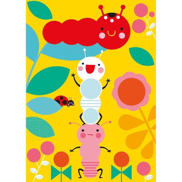 Kit créatif - Tableau mosaïque gommettes - Photo n°3