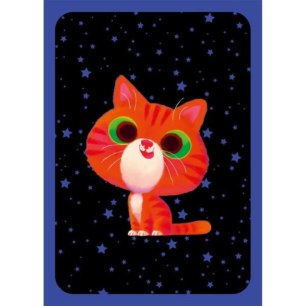 Kit créatif - Magnets chats à gratter - Photo n°3