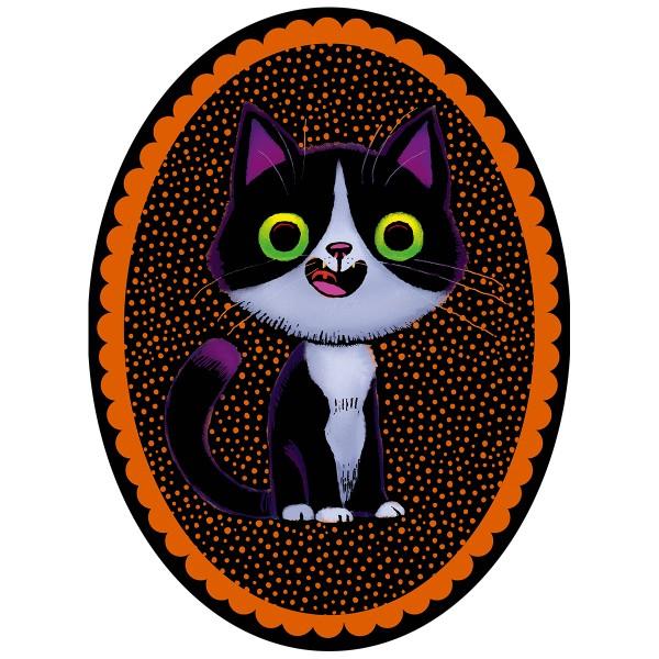 Kit créatif - Magnets chats à gratter - Photo n°4
