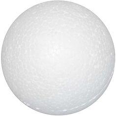 Boules en polystyrène, d: 3 cm, blanc, polystyrène, 100pièces