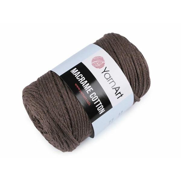 1pc 32 (769) Brun Chêne de Fil à Tricoter Macramé de Coton 250g, d'Artisanat, Fil de Coton, Crochet - Photo n°1