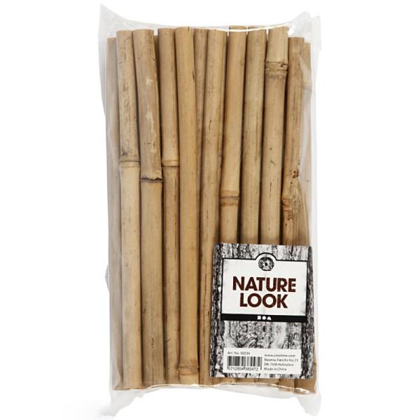 Bâtons de bambou 20 cm - 30 pcs - Photo n°2