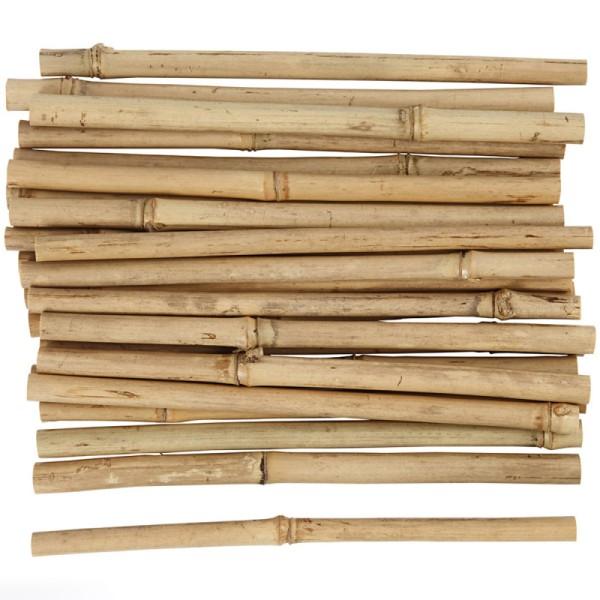 Bâtons de bambou 20 cm - 30 pcs - Photo n°1