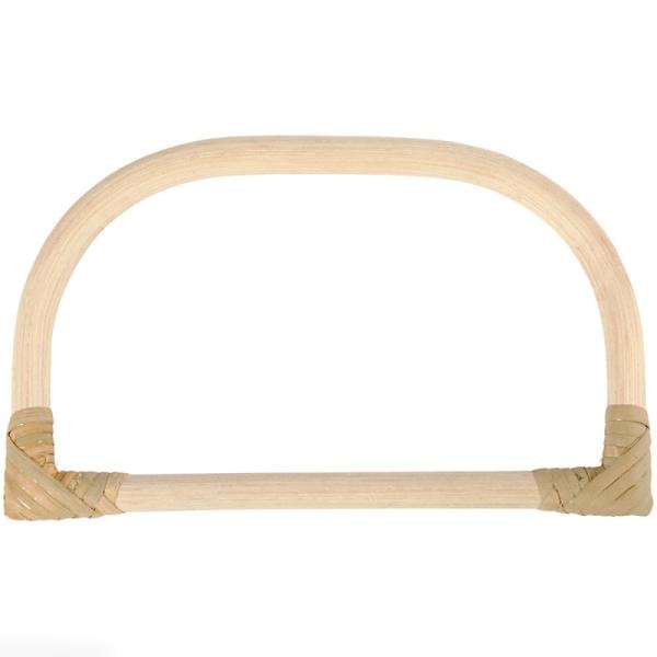 Anse de sac en bambou 15,5 x 9 cm - Photo n°1