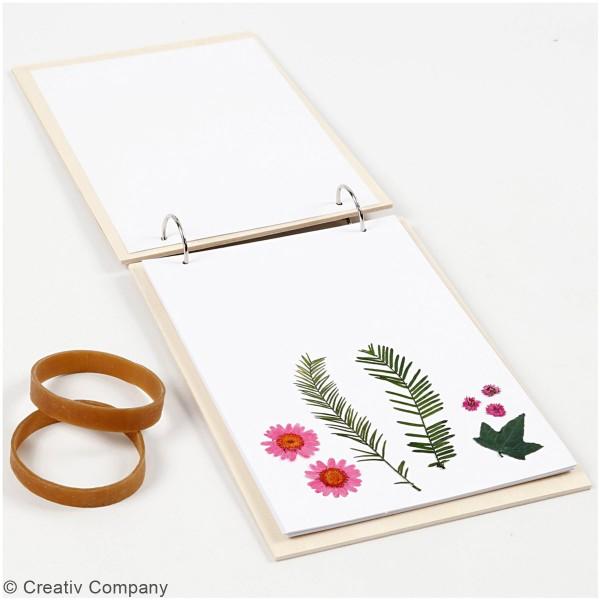 Presse à fleurs pour herbier - 21 x 14,8 cm - Photo n°6