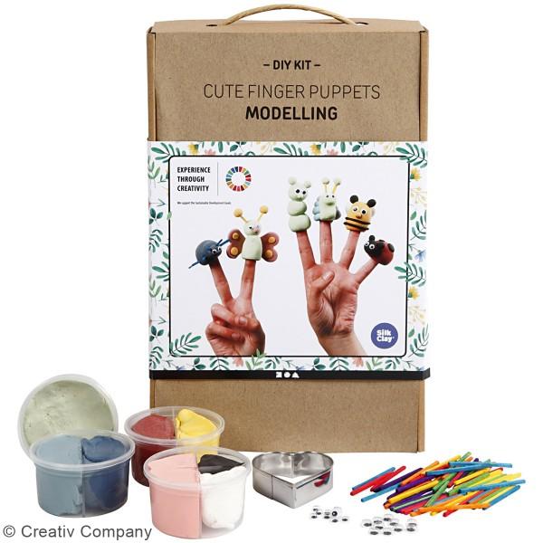 Kit Modelage - Marionnettes à doigt - Photo n°2