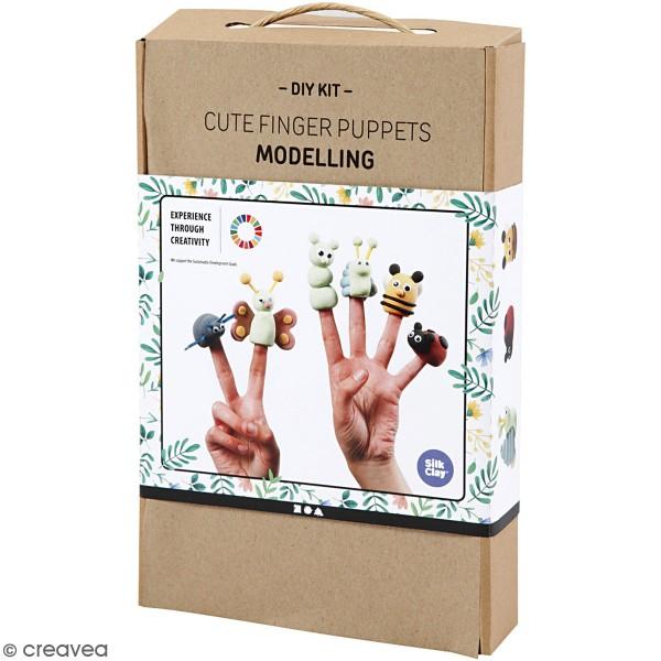 Kit Modelage - Marionnettes à doigt - Photo n°1