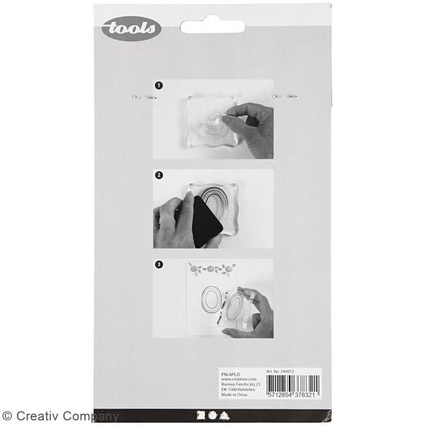 Set de tampons transparents - Printemps - 4 pcs - Photo n°2