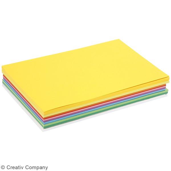 Papier cartonné A4 180 g - Couleurs de printemps - 300 feuilles - Photo n°2