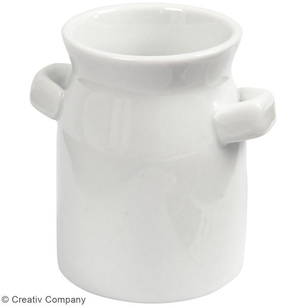 Bidons de lait en céramique - 7,5 x 7,5 cm - 2 pcs - Photo n°3