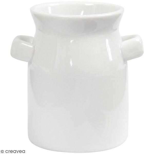 Bidons de lait en céramique - 7,5 x 7,5 cm - 2 pcs - Photo n°1