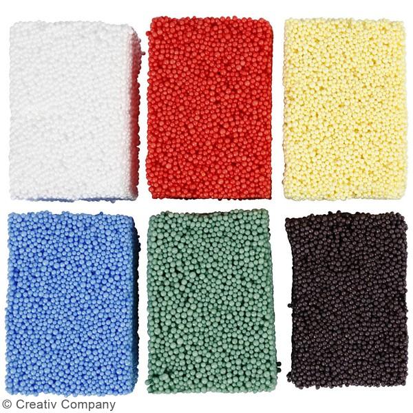 Assortiment de pâtes à modeler Soft Foam - 6 x 10 g - Photo n°4