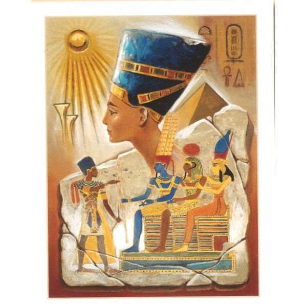 Image 3D - Kit 6 Images 3D 2-002 - 37.5 x 47.5 cm - Egypte Pharaon - Photo n°1