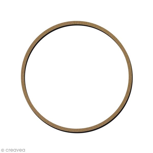 Cercle en bois à décorer - 15 cm - Photo n°1