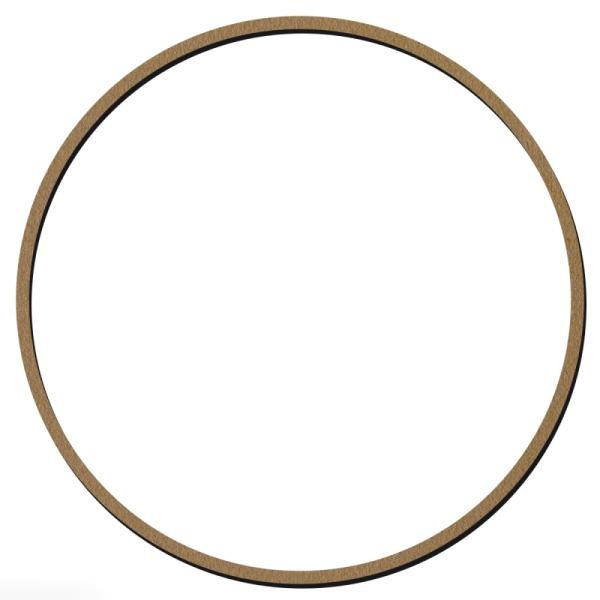 Cercle en bois à décorer - 20 cm - Photo n°1