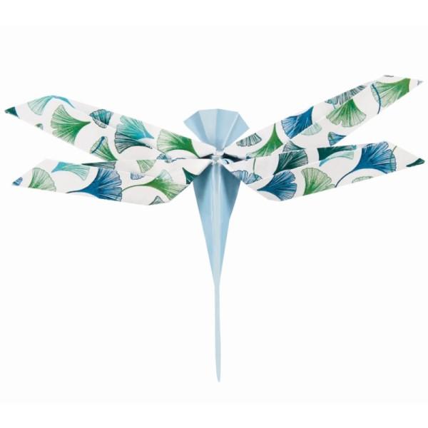 Papier origami Clairefontaine - 15 x 15 cm - Végétal chic - 60 feuilles - Photo n°2