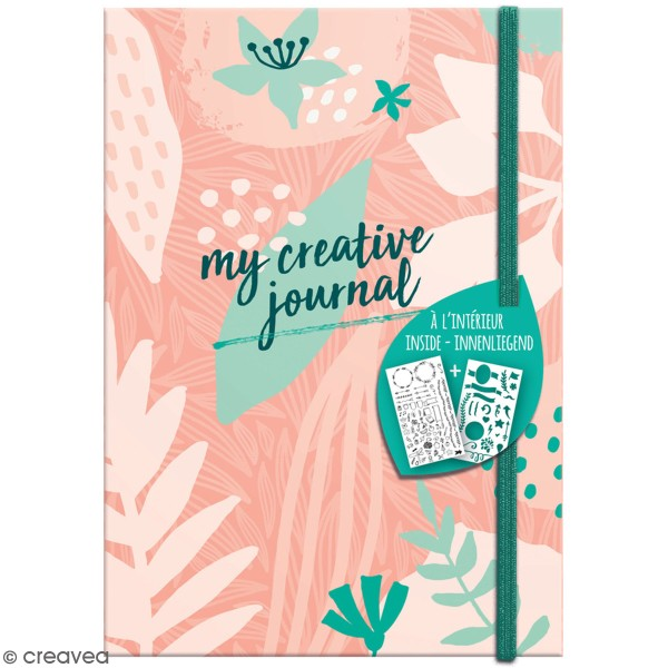 Carnet My Creative Journal Sweety Mood - Format A5 - 208 pages - Photo n°1