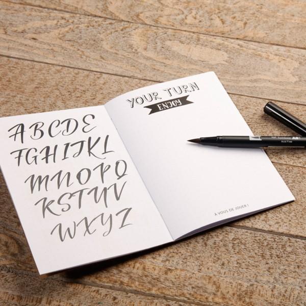 Kit Lettering pour adulte - 18 éléments - Photo n°2