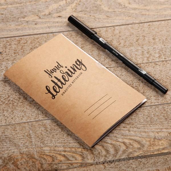Kit Lettering pour adulte - 18 éléments - Photo n°3