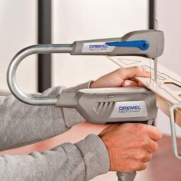 Scie à chantourner compacte Dremel Moto Saw - 5 accessoires inclus - Photo n°6