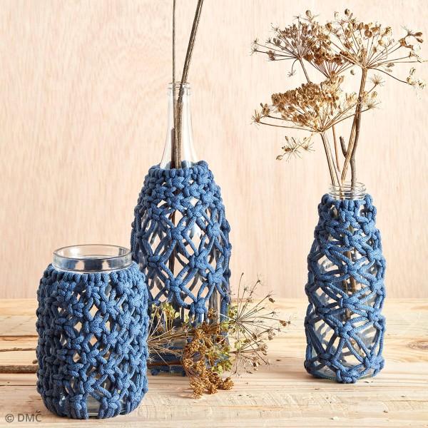 Fil DMC coton recyclé Nova Vita - Macramé, Crochet, Tricot - 250 g - Photo n°4