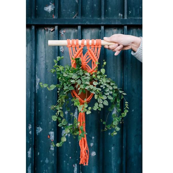Livre DMC Nova Vita - Crochet, tricot, macramé - 15 projets déco - Photo n°2