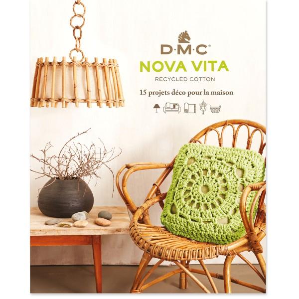 Livre DMC Nova Vita - Crochet, tricot, macramé - 15 projets déco - Photo n°1