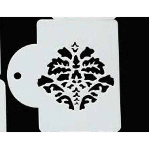 POCHOIR PLASTIQUE 10*7cm : motif antique (B04) - Photo n°1