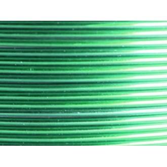 Bobine 60 M fil aluminium vert 2mm