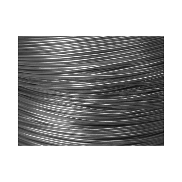 2 Mètres fil aluminium anthracite 1mm - Photo n°1