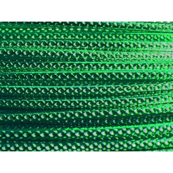 5 Mètres fil aluminium strié vert foncé 2mm - Photo n°1
