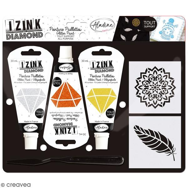 Kit Izink Diamond - Plumes - Photo n°1
