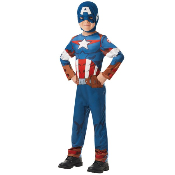 Déguisement Captain américa série animée - 5/6 ans - Photo n°1