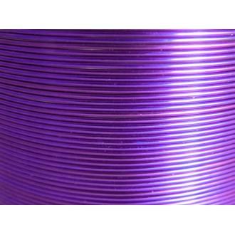 5 Mètres fil aluminium lilas 0.8mm