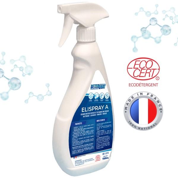 Désinfectant professionnel Elispray 3 en 1 -750 ml - Photo n°1