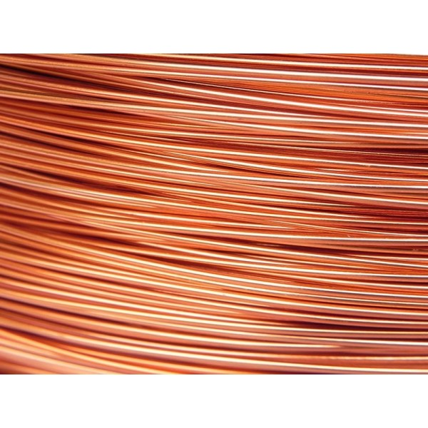 5 Mètres fil aluminium cuivre 1mm - Photo n°1