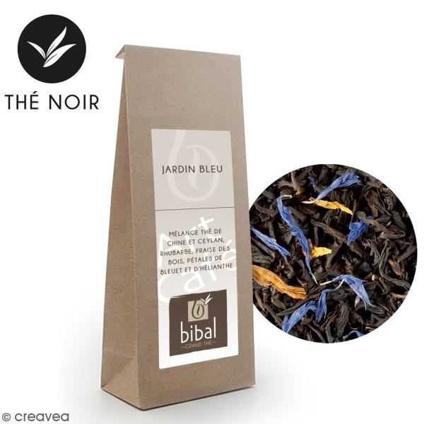 Sac de thé Jardin bleu en vrac Bibal - 100 gr - Photo n°1