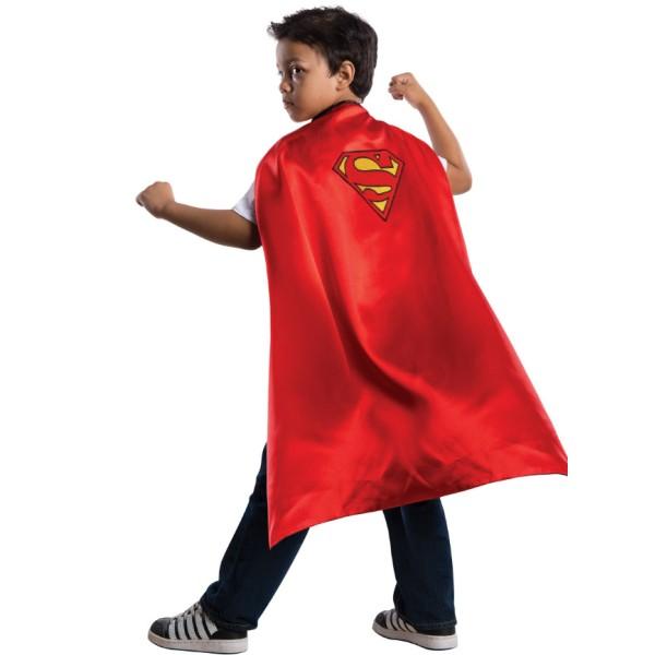 Cape superman enfant 4/8 ans - Photo n°1