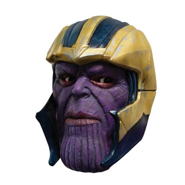 Masque Thanos PVC 3/4 - 26 x 18 cm - Photo n°1