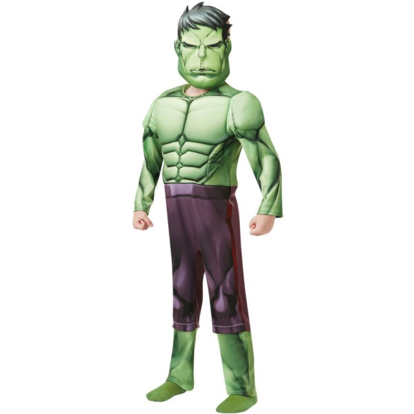 Déguisement Hulk avengers rembourré - 7/8 ans - Photo n°1