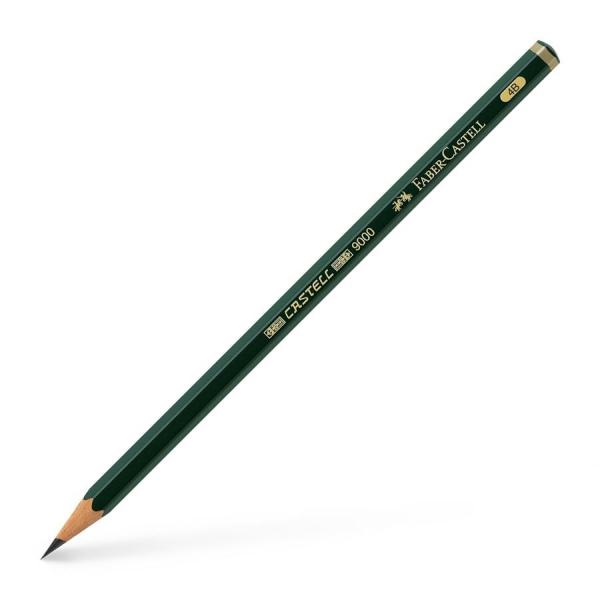 Crayon CASTELL 9000, degré de dureté : 4B - Photo n°1