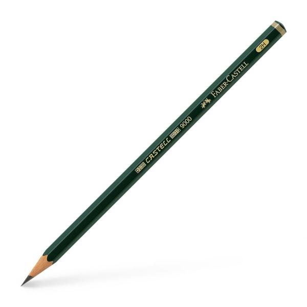 Crayon CASTELL 9000, degré de dureté : 2H - Photo n°1